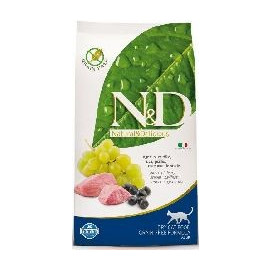N&D grain free cat ADULT LAMB/blueberry 1,5kg