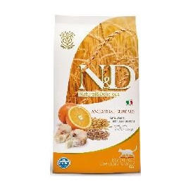 N&D low grain cat ADULT CODFISH/orange 5 kg