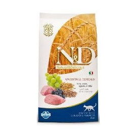 N&D low grain cat ADULT LAMB/blueberry 1,5kg