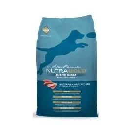NUTRAGOLD grain free WHITEFISH/Sweet Potato 13,6kg