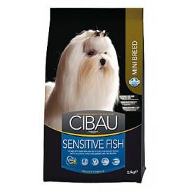 CIBAU Adult Sensitive Fish&Rice Mini 2,5kg