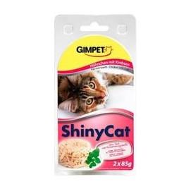 SHINY cat konz. KUŘE/krab 2x85g
