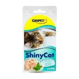 SHINY cat konz. KUŘE/krevety 2x70g