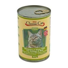CLASSIC cat 415g DRŮBEŽ/hovězí (12ks)
