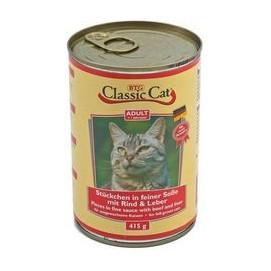 CLASSIC cat 415g HOVĚZÍ/játra (12ks)