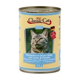CLASSIC cat 415g LOSOS/pstruh (12ks)