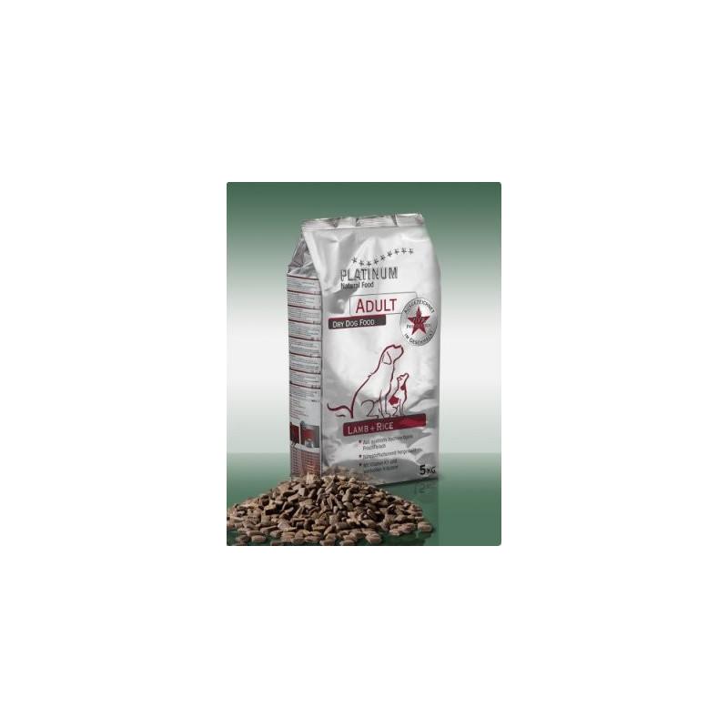 Platinum Lamb & Rice - JEHNĚČÍ 5 kg + 5% Sleva