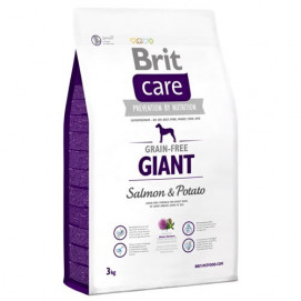 Brit Care Dog Grain Free Giant Salmon & Potato 3 kg