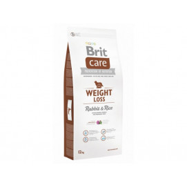 BRIT CARE dog new WEIGHT loss rabbit 12kg