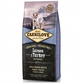 Brit CARNILOVE PUPPIES SALMON/turkey 1,5kg