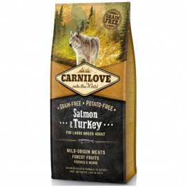 Brit CARNILOVE ADULT large SALMON/turkey 1,5 kg