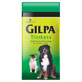 GILPA dog TRINKETS 15kg