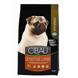 CIBAU Adult Sensitive Lamb&Rice Mini 2,5kg