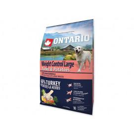ONTARIO dog WEIGHT CONTROL LARGE turkey 12kg