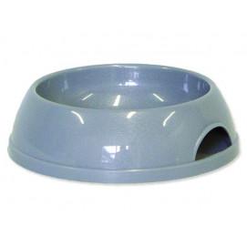 Miska MAGIC CAT plastová šedá 15 cm 200ml