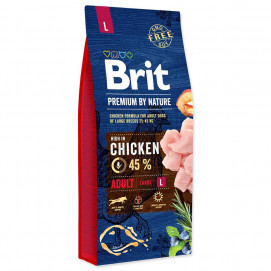 BRIT dog Premium by Nature ADULT L 15kg
