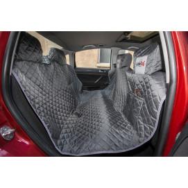 Reedog ochranný autopotah do auta pro psy na zip + boky - šedý