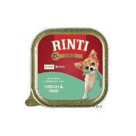 RINTIGOLD paštika MINI hirsch/rind 100g