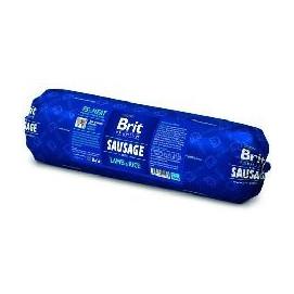 BRIT dog sausage LAMB/rice 800g