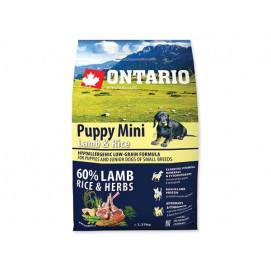 ONTARIO dog PUPPY MINI lamb 6,5 kg