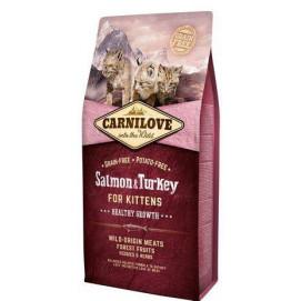 CARNILOVE cat KITTEN salmon/turkey 6 kg