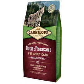 CARNILOVE cat ADULT duck/pheasant 6 kg