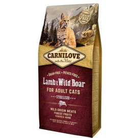 CARNILOVE cat ADULT lamb/wild boar 6 kg