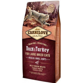 CARNILOVE cat ADULT LARGE duck/turkey 6 kg