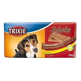 Trixie dog poch. čokoláda SCHOKO 100g