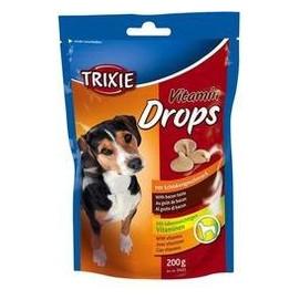 Trixie dog poch. drops SCHINKEN 200g