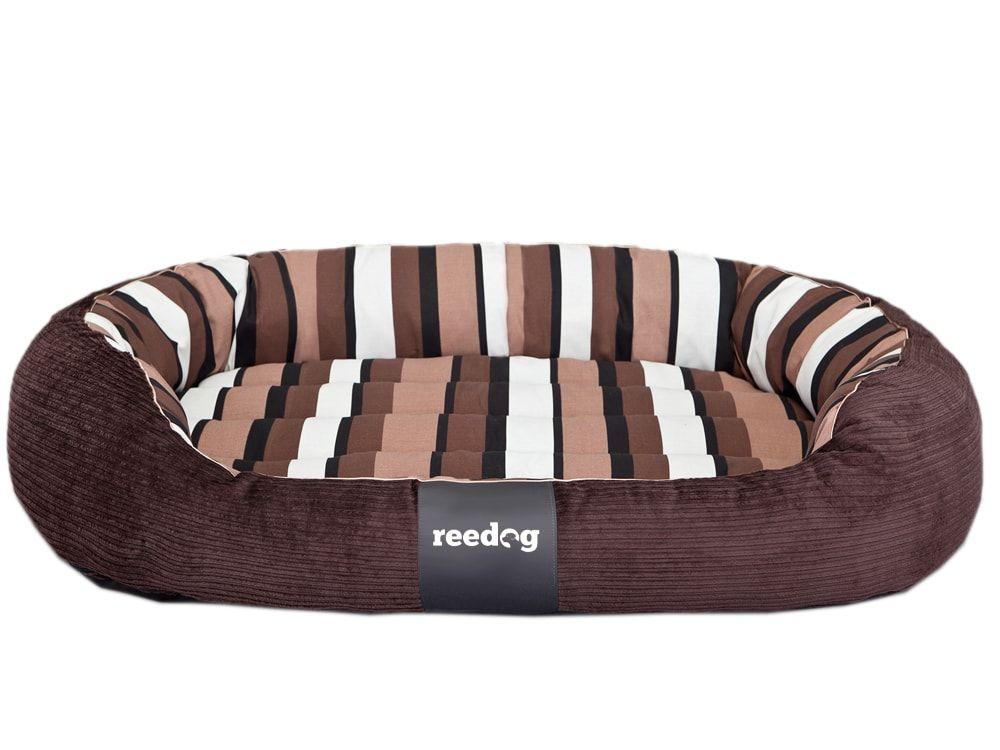 Pelíšek pro psa Reedog Round Strips - L