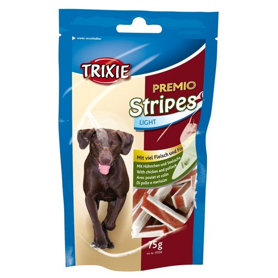 Trixie dog poch. PREMIO light STRIPES 75g