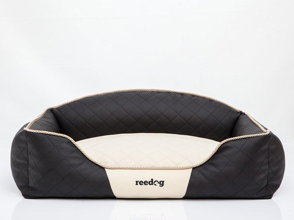 Pelíšek pro psa Reedog Black & Beige Sofa - XL