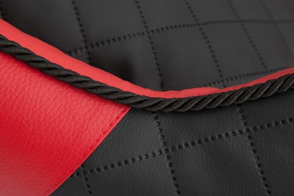 Pelíšek pro psa Reedog Black & Red Sofa - XL