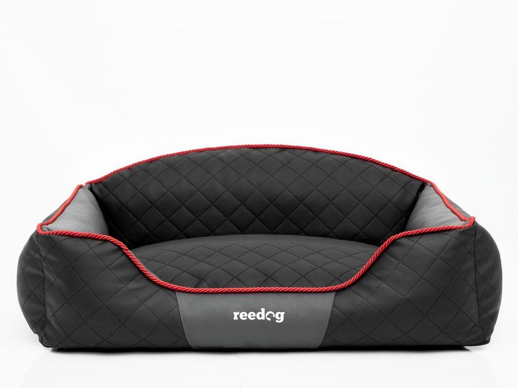 Pelíšek pro psa Reedog Black & Grey Sofa - XL