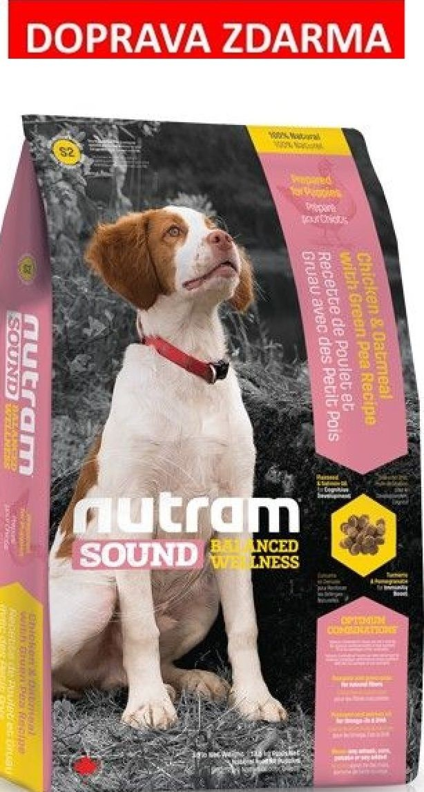Nutram Sound Puppy 13,6 kg - DOPRAVA ZDARMA