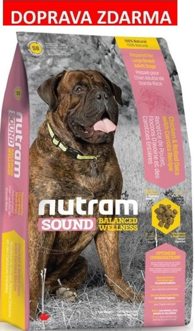 Nutram Sound Adult Dog Large Breed 13,6 kg- DOPRAVA ZDARMA