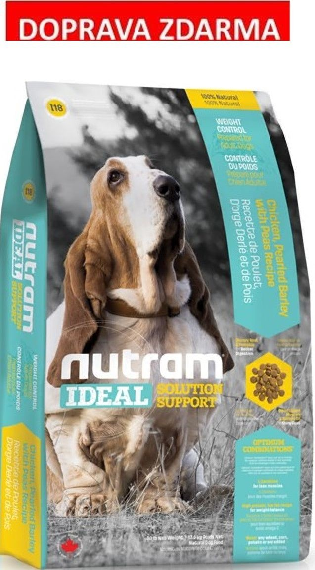 Nutram Ideal Weight Control Dog 13,6 kg