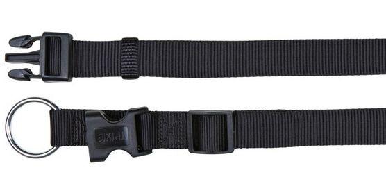 Obojek CLASSIC 20mm/35-55cm - černý