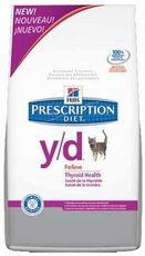 Hills cat y/d thyroid 1,5kg