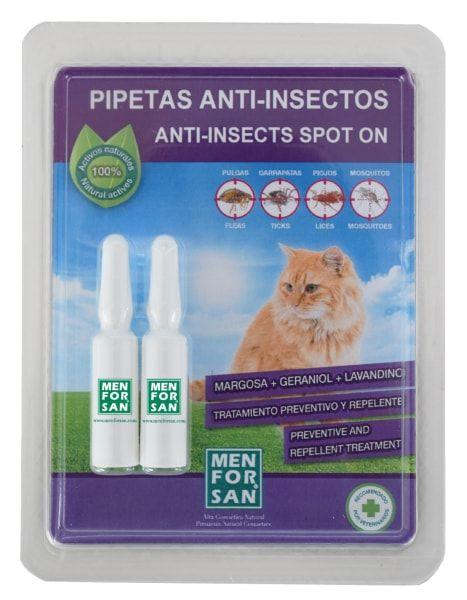 Antiparazitní pipety Menforsan pro kočky - 2 ks