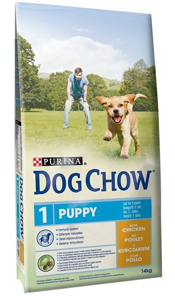 PURINA dog chow PUPPY kuřecí 14kg