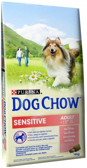 PURINA dog chow SENSITIVE LOSOS 14kg