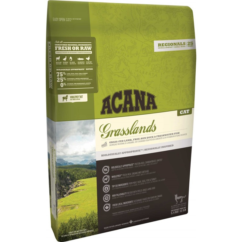 ACANA REGIONALS GRASSLANDS CAT 1,8 kg