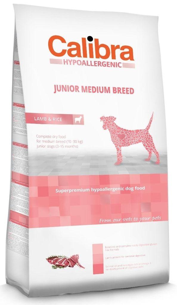 Calibra Dog HA Junior Medium Breed Lamb 14kg