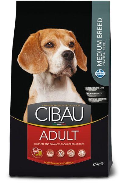 CIBAU Dog Adult Medium 2,5kg
