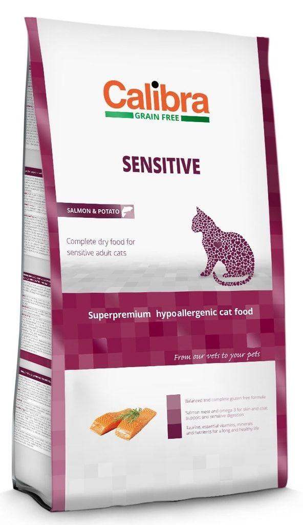 Calibra Cat GF Sensitive Salmon 2kg