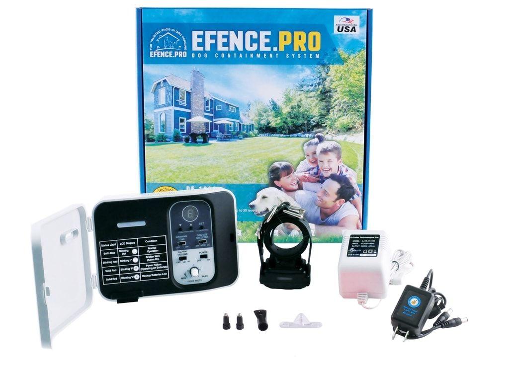 Elektronický ohradník E-collar DF-1000 - pro 2 psy