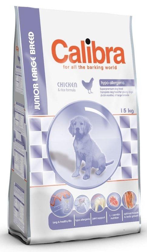 Calibra Dog Junior Large Breed 3kg