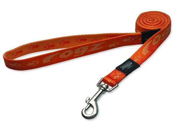 Vodítko ROGZ Alpinist oranžové XL